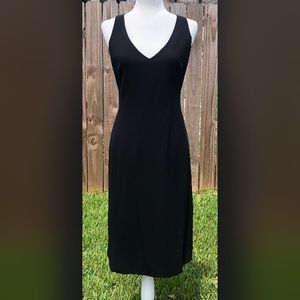 Piazza Sempione Italian Made Little Black Dress